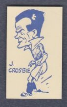 Birmingham City Johnny Crosbie Scotland (PY)